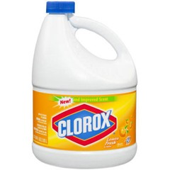 Clorox Professional Ultra Clorox Liquid Bleach, Lemon Scent, 3 qt. Bottle (Box of 6)