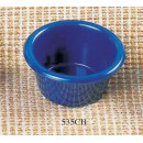 Thunder Group ML535CB Cobalt Blue Melamine 2 oz. Smooth Ramekin 2-1/2""