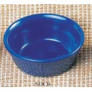 Thunder Group ML532CB Cobalt Blue Melamine 4 oz. Fluted Ramekin 3-3/8""
