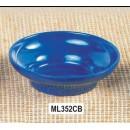Thunder Group ML352CB Cobalt Blue Melamine 8 oz. Salsa Bowl