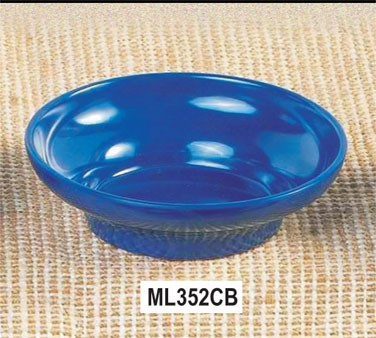 Thunder Group ML352CB Cobalt Blue Melamine 8 oz. Tulip/Salsa Bowl 4-3/4""