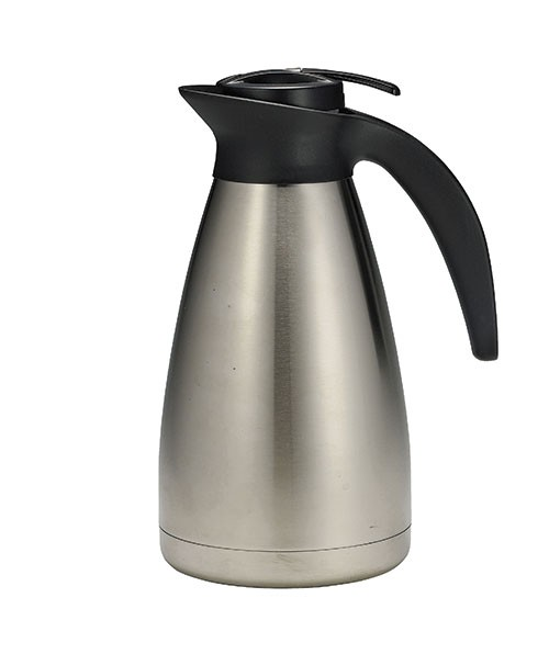 TableCraft 734 Stainless Steel Coffee Decanter, 34 oz.