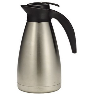 Stainless Steel Coffee Decanter, 68 Oz