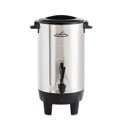 Coffee Pro Stainless Steel 30-Cup Percolating Urn