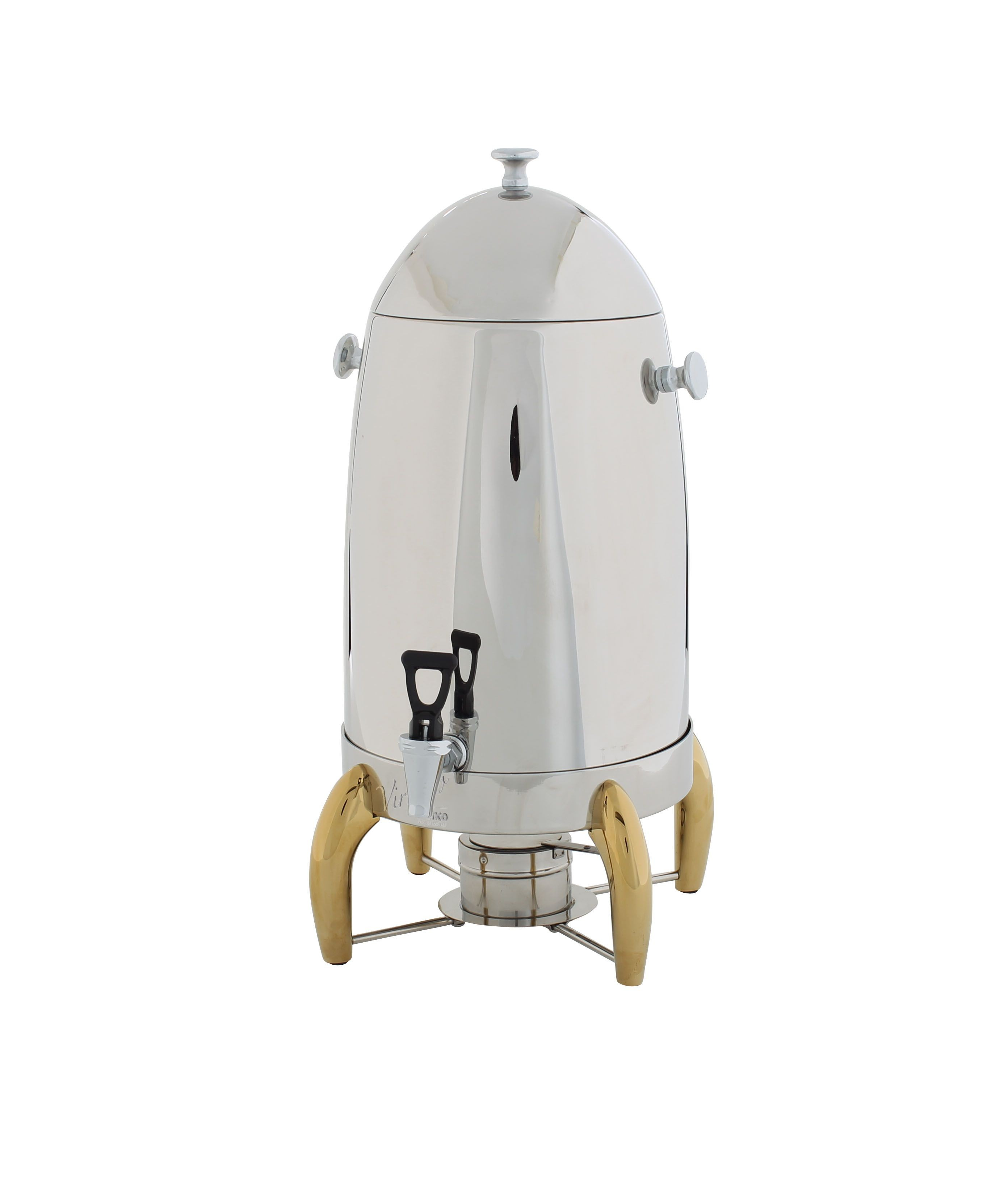 Virtuoso Coffee Urn with Gold Legs, 5 Gallon