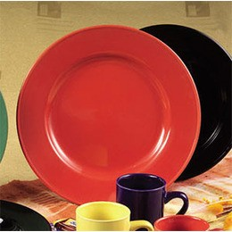 Color Dinner Plate Red, 12