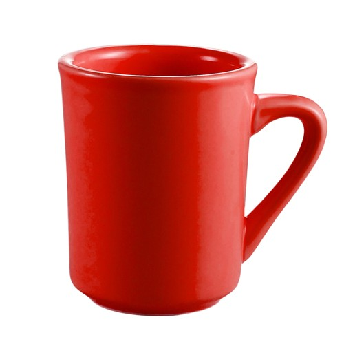CAC China TM-8-R Las Vegas Red Tierra Mug 8 oz.