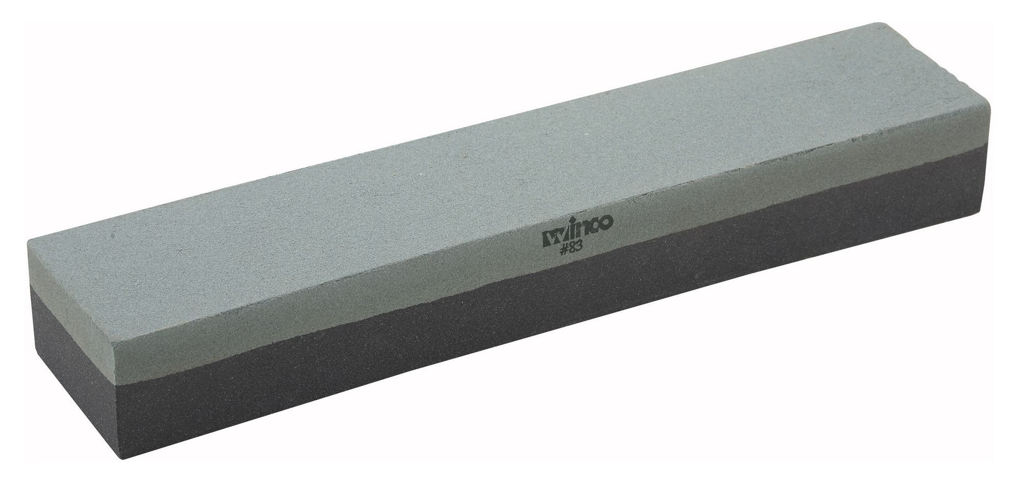 "Winco SS-1211 Combination Sharpening Stone 12"" x 2-1/2 "" x 1-1/2"""