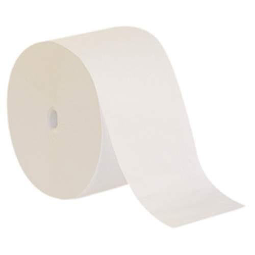 Compact Coreless Single Ply Bath Tissue, 2000 Sheets