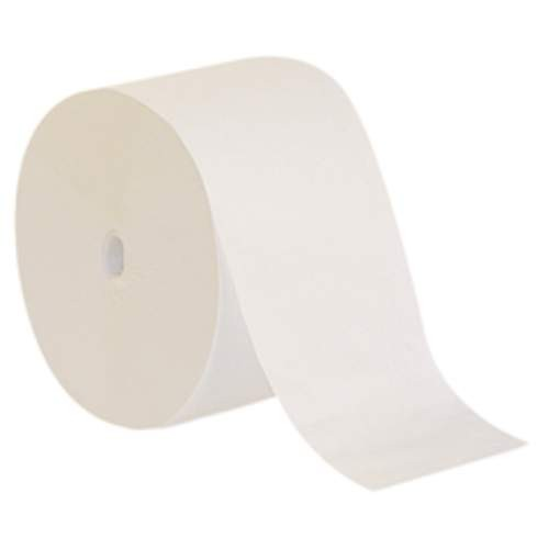 Compact Coreless Single Ply High-Capacity Bath Tissue, 3000 Sheets
