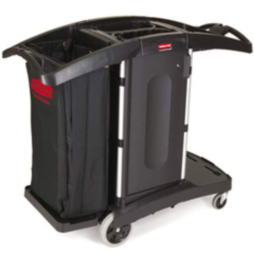 Compact Fold Away Cart, Black