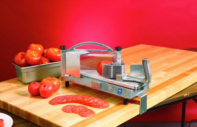 Compact NEMCO Easy Tomato Slicer II - 3/8