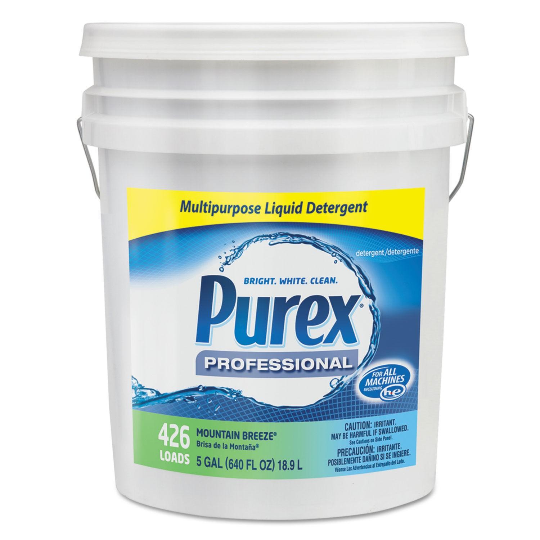 Concentrate Liquid Laundry Detergent, Mountain Fresh, 5 Gallon. Pail