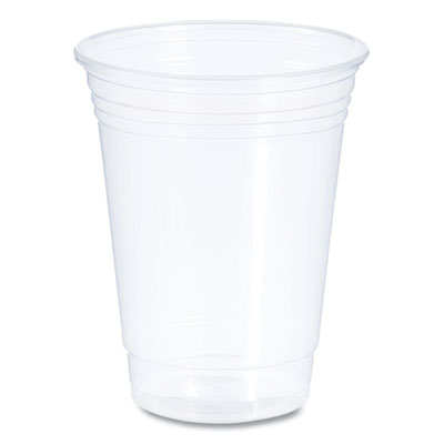 Conex ClearPro Cold Cups, Plastic, 16oz, Clear, 50/Pack, 20 Packs/Carton
