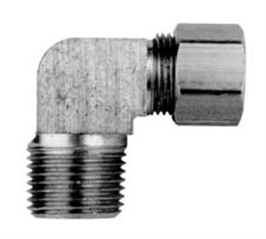 Franklin Machine Products  158-1093 Connector, Elbow (3/8Odx3/8Npt )