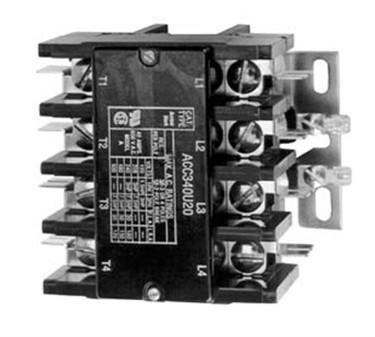 Contactor (4 Pole, 30 Amp, 240V )