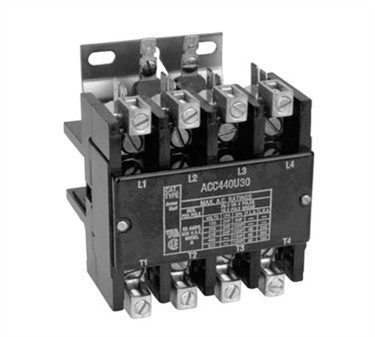 Contactor (4 Pole, 40 Amp, 240V )