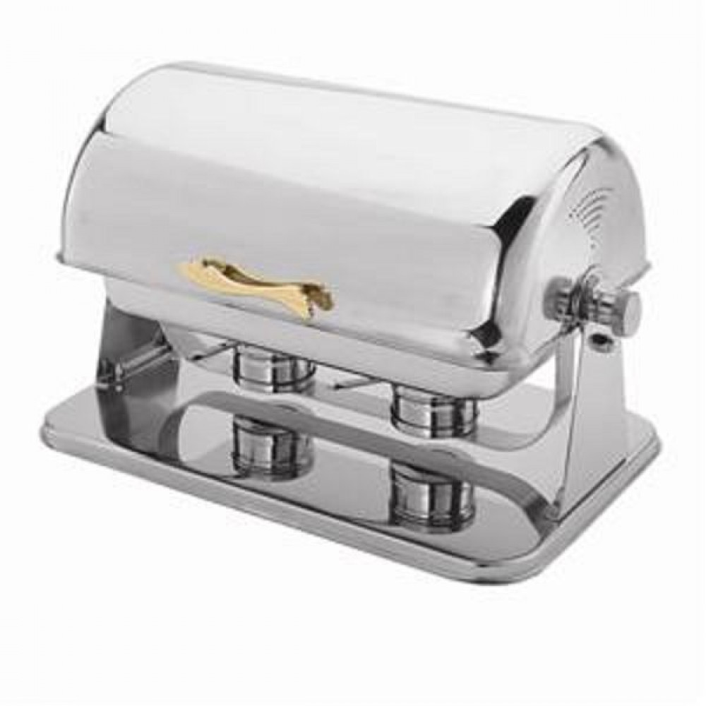Thunder Group SLRCF0181G Contempo Roll Top Premium Full Size Chafer