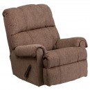 Flash Furniture WM-8700-210-GG Contemporary Tahoe Bark Chenille Rocker Recliner