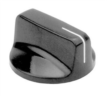 Franklin Machine Products  130-1025 Control Knob (1/4Hole, 1.25Rd )
