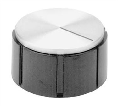 Franklin Machine Products  130-1020 Control Knob (1/4Hole, 1-3/8Rd )