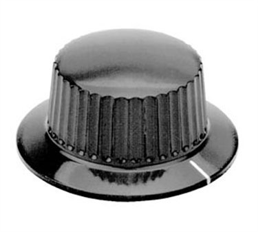 Franklin Machine Products  130-1024 Control Knob (1/4Hole, 1.5Rd )