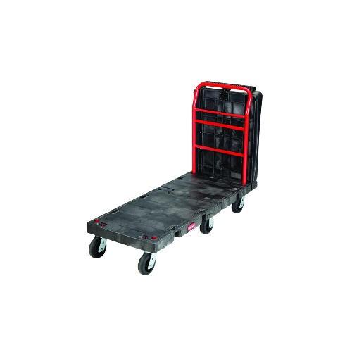 Convertible Platform Truck, 2000-lb Cap., 25 1/4w x 61 1/2d x 41 1/10h, Black