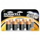 Coppertop Alkaline Batteries, C-Cell, 1.5 Volt