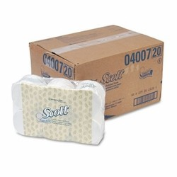 Scott Coreless Standard Roll Bathroom Tissue, 1-Ply, White, 36 Rolls/Carton