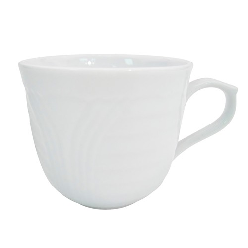 CAC China CRO-1 Corona Porcelain Cup 7.5 oz.