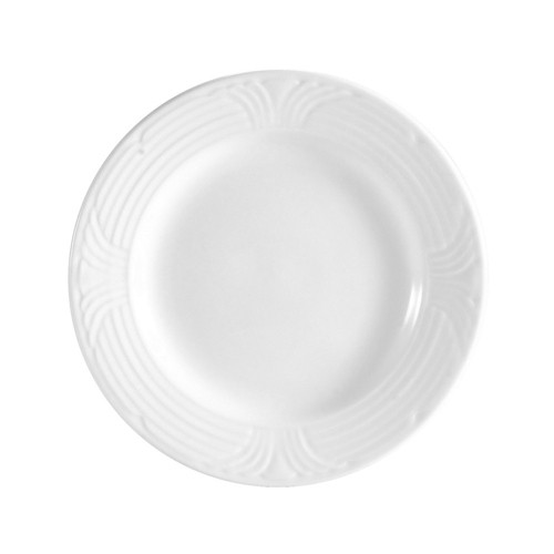 "CAC China CRO-8 Porcelain Embossed Corona 9"" Plate"