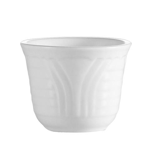 CAC China CRO-45 Corona Porcelain Chinese Tea Cup 4.5 oz.