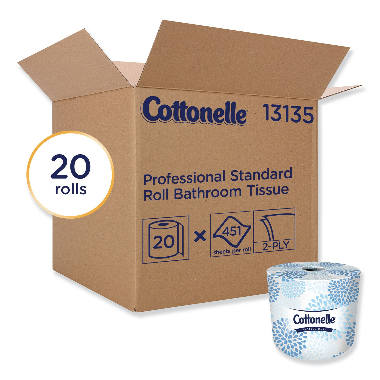 Cottenelle Two-Ply Bathroom Tissue, 20 Rolls/Carton