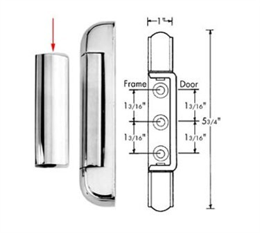 Franklin Machine Products  123-1052 Cover, Hinge (Kason 217 )