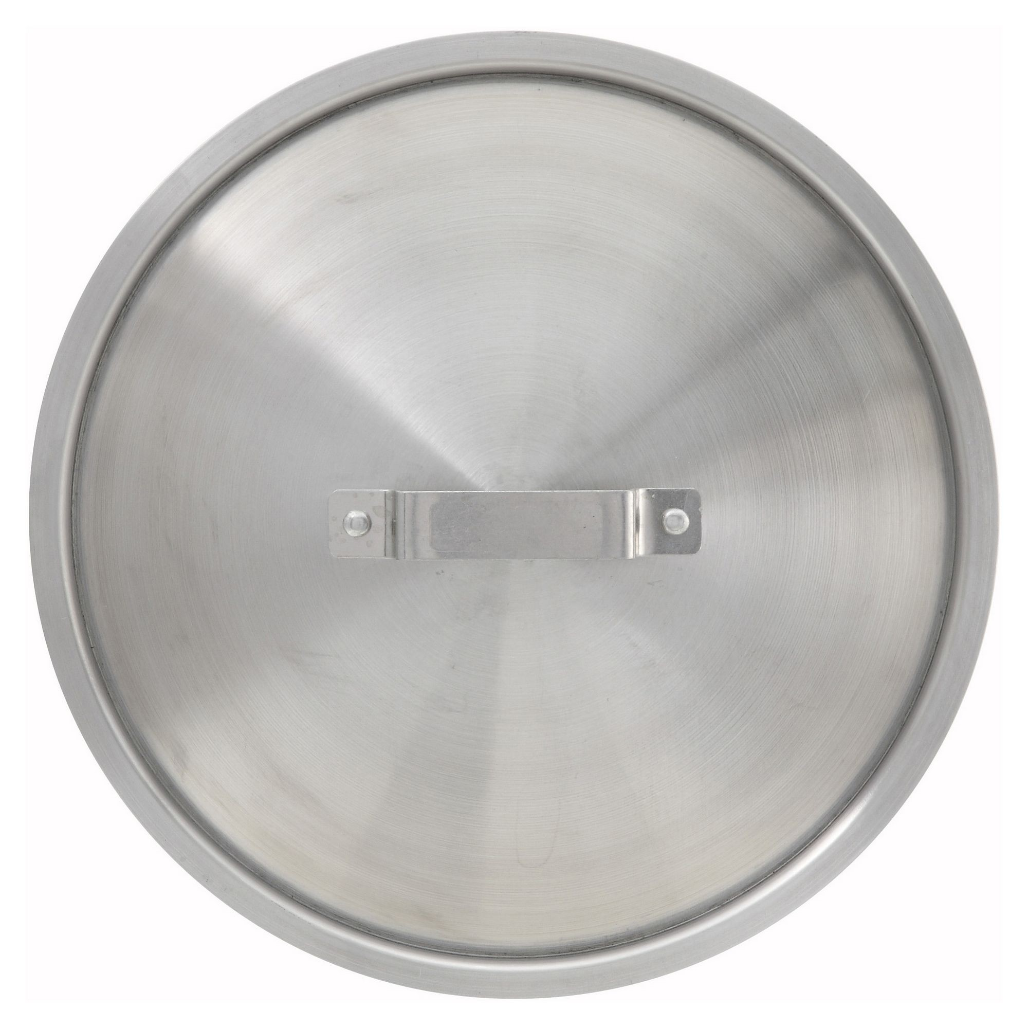Winco AXS-60C Aluminum Stock Pot Cover for 50-60 Qt. Stock Pots/18 Qt. Braziers/34-40 Qt. Sauce Pots