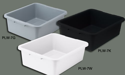 Winco PLW-CK Black Cover for Heavy Duty Dish Box