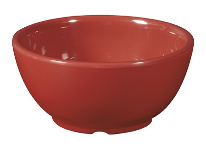 G.E.T. Enterprises B-525-CR Diamond Harvest Cranberry 16 oz. Melamine Bowl