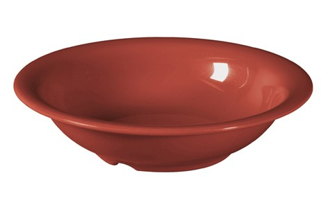 G.E.T. Enterprises B-167-CR Diamond Harvest Cranberry Melamine 16 oz. Bowl