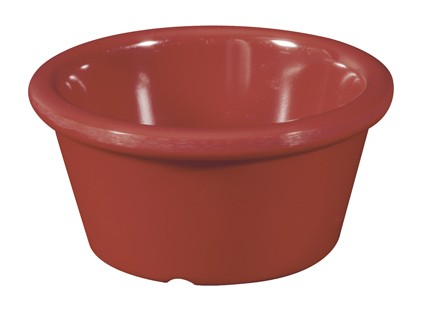 Cranberry Melamine 2 oz., 2.75