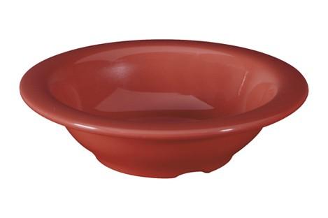 G.E.T. Enterprises B-454-CR Diamond Harvest Cranberry 4.5 oz. Melamine Bowl