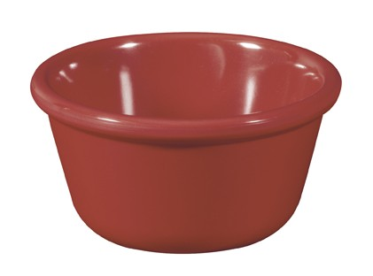 Cranberry Melamine 4 oz., 3.25