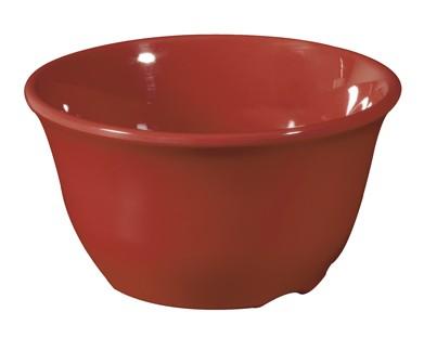 G.E.T. Enterprises BC-70-CR Diamond Harvest Cranberry 7 oz. Melamine Bouillon Cup