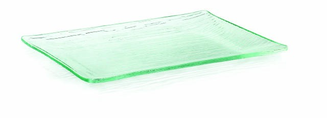"TableCraft A139 Cristal Collection Rectangular Acrylic Tray 13"" x 9"""