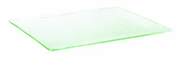 "TableCraft A1915 Cristal Collection Rectangular Acrylic Tray 19-1/4"" x 15-1/2"""