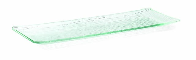 "TableCraft A207 Cristal Collection Rectangular Acrylic Tray 19-1/2"" x 6-3/4"""