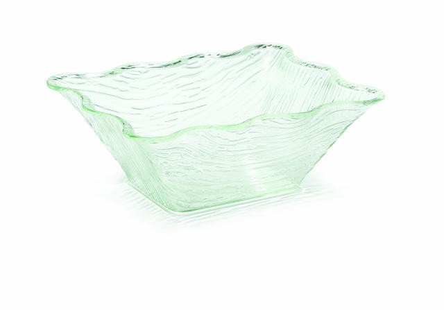 "TableCraft AB1411 Cristal Collection Rectangular Acrylic Bowl 13-1/2"" x 11"" x 5"""