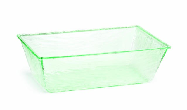 "TableCraft AT2012 Cristal Collection Rectangular Beverage Tub 20"" x 12"" x 6"""