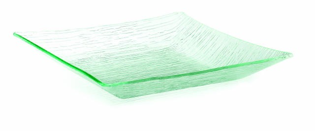 """TableCraft A1515 Cristal Collection Square Acrylic Tray 15-1/4"""" x 2-1/2"""""""