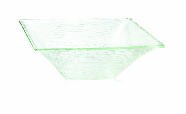 TableCraft AB14 Cristal Collection Square Acrylic Bowl 14""