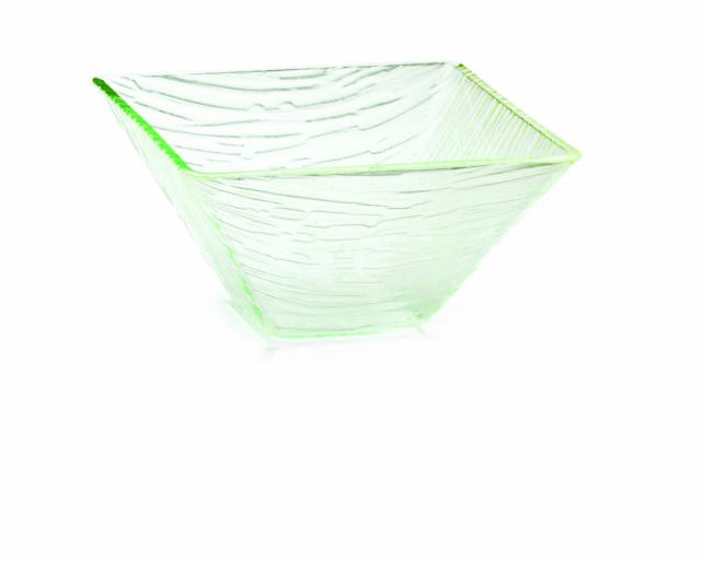 Cristal Collection Square Acrylic Bowl - 7-1/2
